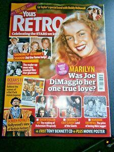 Yours Retro Magazine Issue 27  Marilyn Monroe (new) 2020