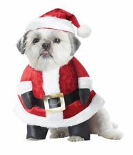 Santa Paws XSmall Dog Costume Christmas Hat Outfit XS