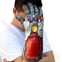 Avengers 4 Endgame Infinity Gauntlet Cosplay Iron Man Tony Stark Gloves Costume