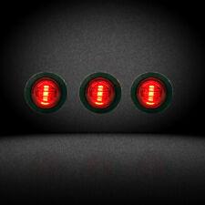 (3)Raptor Mod Style LED Red Grille/Marker Lighting for PickupTruck SUV
