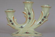 Portacandele bugia ceramica Giovanni Lamincia Deruta 1900 laboratorio Santarelli