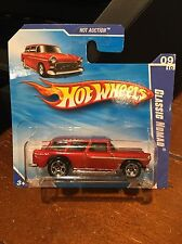 2010 Hot Wheels Hot Auction Classic Nomad Red #165 Short Card
