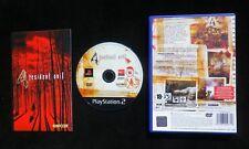 RESIDENT EVIL 4 : JEU Sony PLAYSTATION 2 PS2 (Capcom COMPLET envoi suivi)