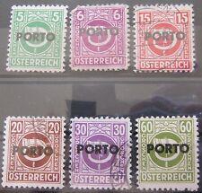 Österreich 1946 Portomarken aus Mi.189 - 203