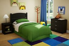 Cheap Bedroom Set For Boys Toddler Kid Furniture Twin Bed Headboard Dresser