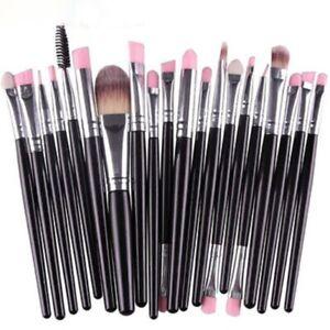 20PCS/Set Makeup Brushes Kit Powder Foundation Eyeshadow Eyeliner Lip Brush Tool