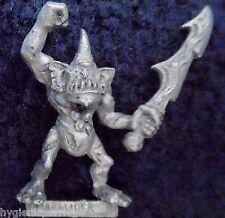 1994 caos plaguebearer 3 demonio menor de Nurgle Citadel Warhammer army Demonio