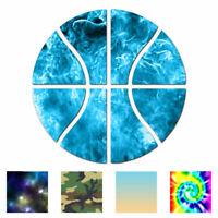 Basketball Sport - Vinyl Decal Sticker - Multiple Patterns & Sizes - ebn3140