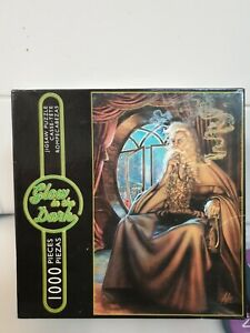 Glow in the Dark 1000 piece puzzle THE GREY WIZARD by Sure-Lox Used