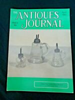 Antiques Journal 1965 Waveland Kentucky Life Museum Lyre Candle Sconces Lamps