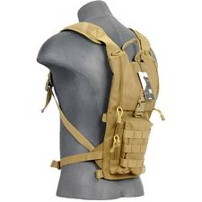 Lancer Tactical CA-321T Lightweight Hydration Backpack Pack H2O Carrier Tan