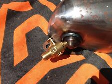 Harley Knucklehead WLA WLC Tank Hahn Oel Custom Tank tap oil