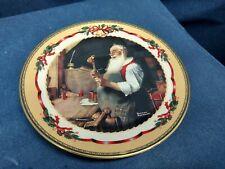 "1997 Bradford Exchange Collector's Lenox Plate ""Santa'Sworksho p"" Thomas Kincade"