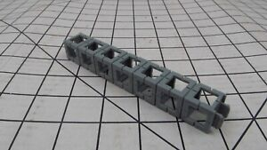 Lot of 12 Rokenbok Building System Light Grey 1x7 Beams  Unbroken parts!