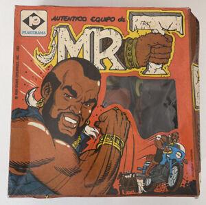 Rare 1983 Plastirama Mr. T Costume & Mask Set Vintage Argentina MIB UNUSED
