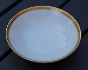 SCHERZER Bavaria 1961 kleine Konfektschale Porzellan Goldrand sehr gut erhalten