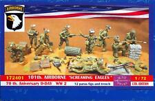 BUM Models 1/72 U.S. 101st AIRBORNE DIVISION 70th Anniversary D-Day Figure Set