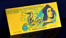 """★★ ITALIE / ITALIA / ITALY : BILLET POLYMER  """" OR """" DU 500000 LIRE ★"""