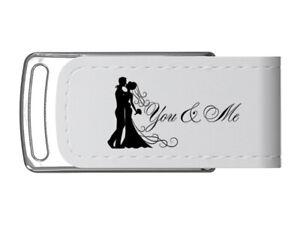 "USB-Stick Hochzeit Design ""You & Me"" . USB 3.0"