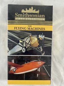 1989 Smithsonian Video Collection | The Flying Machines | VHS Documentary Planes