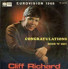7inch CLIFF RICHARD congratuations SPAIN 1968 EUROVISION EX