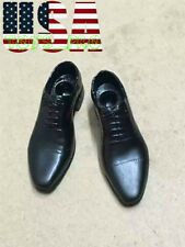 """1/6 Scale Men Dress Shoes For James Bond For 12"""" Hot Toys Male Figure ❶❶USA❶❶"""