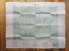 MAP, Dryden Ontario, 1938 Dept of Mines & Resources, Canada, forestry clothbacke