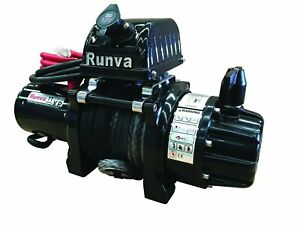 Runva 11XS Premium 12V with Synthetic Rope 10875235218