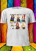 Disney Princess Gone Bad Girls Mugshot T-shirt Vest TankTop Men Women Unisex 441