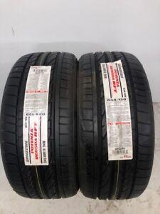2 NEW 245/40/19 BRIDGESTONE POTENZA RE050A Run Flat BMW 2454019 245/40R19 034128
