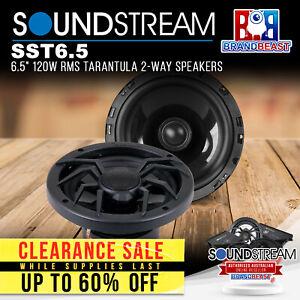 "Soundstream SST6.5 6.5"" 120W RMS Tarantula 2-Way Speakers"