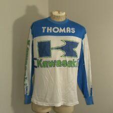 Vtg Kawasaki Racing USA Baja Motocross Supercross Jersey Shirt Sz Mens XL