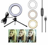 Luce Anulare Anello Supporto Dimmerabible treppiedi Cavalletto Video Studio Foto