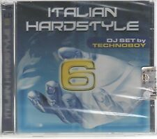 ITALIAN HARDSTYLE VOL. 6 DJ SET by TECHNOBOY  - 2 CD  F.C.SIGILLATO!!!