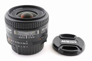 [Top Mint] Nikon AF NIKKOR 35mm F/2 D Wide Angle AF Lens From Japan