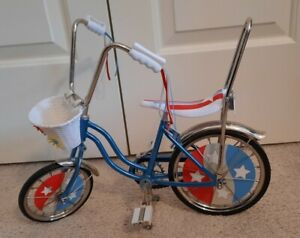 American Girl Julie California Sting-Ray Bicycle Blue Hippie