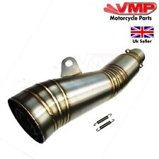 Cafe Racer Grand Prix Race GP Style Stainless Steel Exhaust Muffler