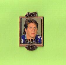 1994 Rick Mirer Seahawks Action Packed Football FB Logo NFL Lapel Pin