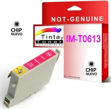 Tinta NON OEM COMPATIBLE Magenta para EPSON STYLUS T0613 D68 DX4800 DX4850 D88