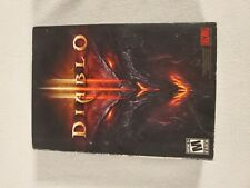 Diablo 3 III Box Set Blizzard 2012 Complete Set Game for PC Great Condition