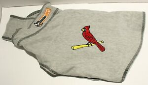ThunderShirt Dog Anxiety Polo Shirt St. Louis Cardinals Baseball - Medium