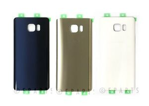 Back Glass Cover Battery Door For Samsung Galaxy Note 5 SM-N920 N920A N920V USA