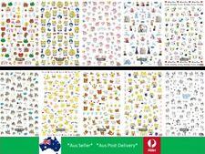 Nail Decal Decor Sticker Sailor Moon, Totoro, Pikachu, Snoopy Christmas Xmas Aus