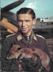 Jagdflieger Hans Philipp Luftwaffe Zweiter Weltkrieg Wandbild