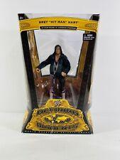 WWE Defining Moments Bret Hart Elite Wrestling Figure Flashback WWF WCW NWA