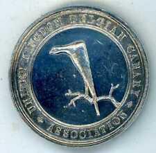 More details for united kingdom belgian canary association unmarked silver medal barnstaple 1902