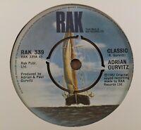 "Adrian Gurvitz : Classic : Vintage 7"" Single from 1982"