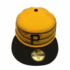 Pittsburgh Pirates New Era 59Fifty Throwback Pillbox 7 3/8 Fitted Cap Hat $38