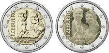 Luxemburg 2 Euro 2020 Geburt Prinz Charles - beide Varianten zusammen