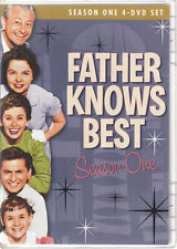 FATHER KNOWS BEST - Season One (DVD 2008 4-Disc Set Closed Caption) (I4)